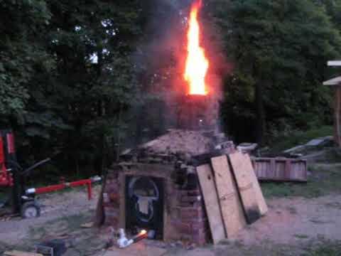 Mój pierwszy podwórkowy piec do wypalania cegieł