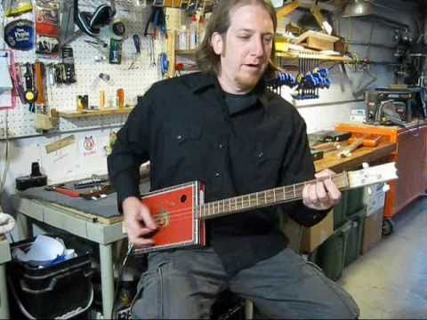Cigar Box Guitar Lessons Mike Snowden Right Hand