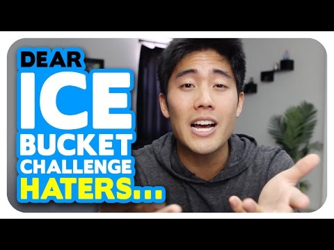 Dear Ice Bucket Challenge Haters...