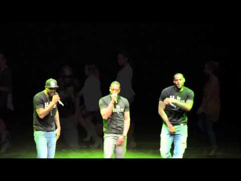 January 27, 2014 - Battioke 2014 - LeBron James, Dwyane Wade, Udonis Haslem (Blurred Lines)