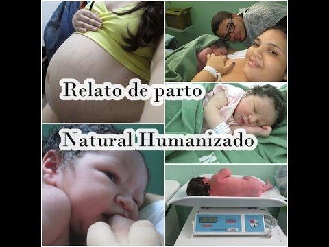 Relato de parto natural humanizado no SUS com 40 semanas
