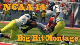 NCAA 14 Big Hit Montage [HD]