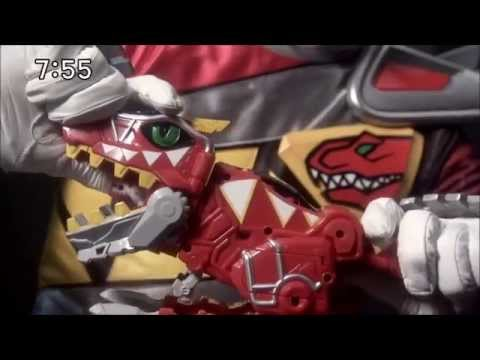 Power Rangers Dino Charge Zyuden Sentai Kyoryuger Toys Commercial CM