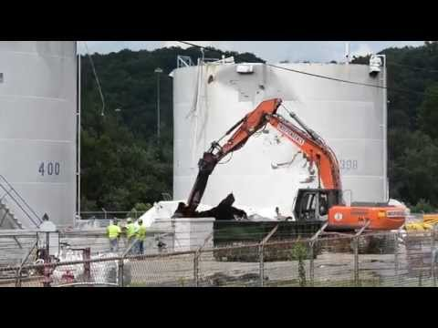 Freedom Industries Tank Farm Demolition