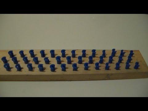Como Hacer Un Telar Para Pulseras De Gomitas/  How to make your own Rainbow Loom