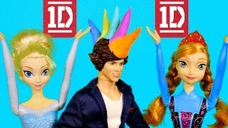 Frozen One Direction What Makes You Beautiful Harry