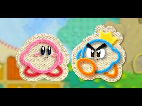Kirby's Epic Yarn - Co-op Multiplayer