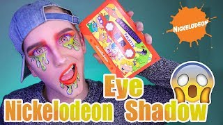 90's Eyeshadow Palette | Nickelodeon Hot Topic Palette Review | DanielzROTFL