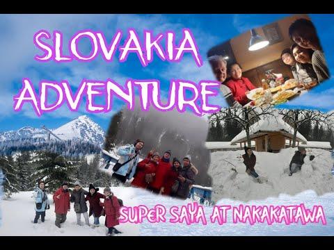 SLOVAKIA FUNNY ADVENTURE GUMAWA KAMI NG NAKAKATAWANG SNOWMAN