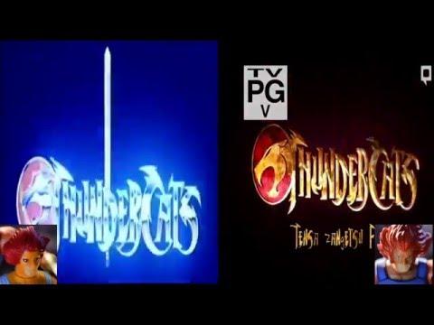 Thundercats Intro Comparison 1980s vs 2011   Nostalgia Nerd Extra