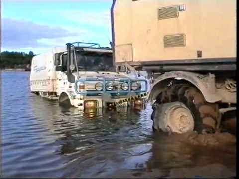 Unimog truck expedition North Russia Ural 1999 Extreme Adventure Offroad