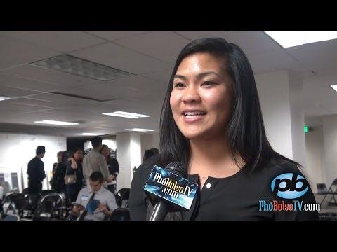 Cựu sinh viên Mỹ gốc Việt Tracy Nguyen nói chuyện du học tại Việt Nam