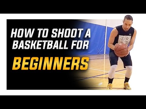 How to Shoot a Basketball Better for Beginners
