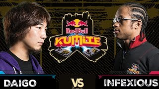 Red Bull Kumite 2017: Daigo vs Infexious | Losers Semi Final