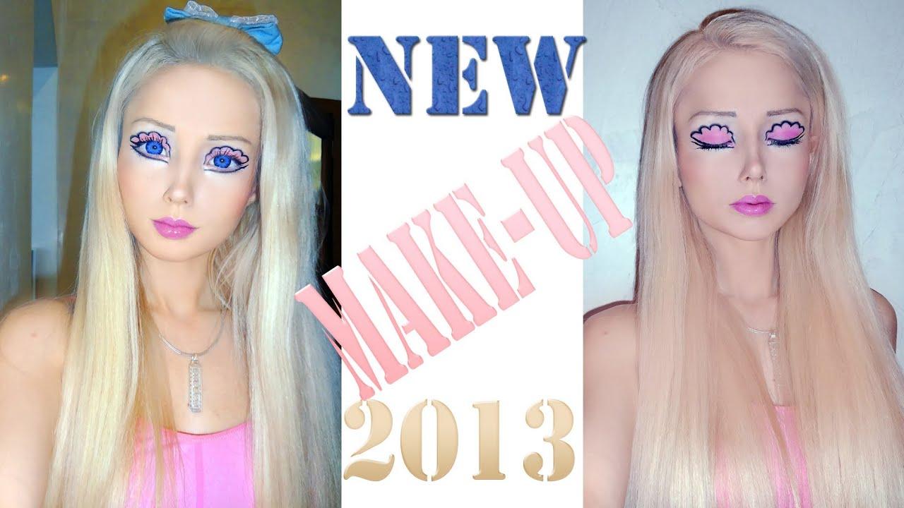 valeria lukyanova makeup tutorial