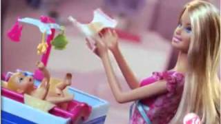 Real Brinquedos - Barbie Quero ser... Prof. Artes e Baba - Mattel