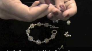 How To Make Jewelry: How To Make A Crystal Beaded Bead