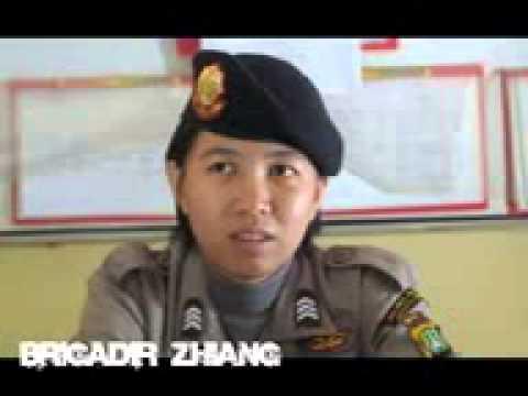 Mengenal Brigadir Zhiang, Polwan keturunan Tionghoa