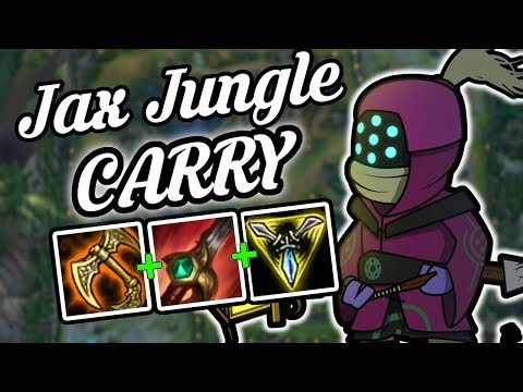 Jax Jungle is CRAZY Strong - Jax Jungle Commentary Guide - League of Legends