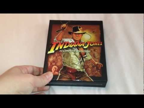 Indiana Jones The Complete Adventures UK Limited Edition Collector's set Blu-ray unboxing