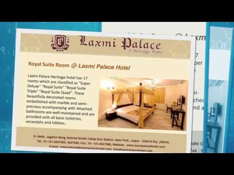 Best Heritage Hotel in Jaipur with Economy Prices and stay in Jaipur with Laxmi Palace Hotel