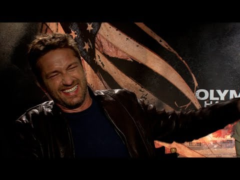 Gerard Butler Interview for OLYMPUS HAS FALLEN