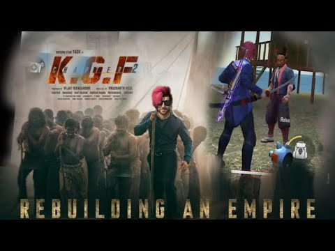 KGF  chapter 2    free fire fighting killing video (funny video )
