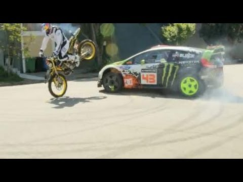 KEN BLOCK REMIX ULTIMATE URBAN PLAYGROUND SAN FRANCISCO NEW 2012 HD