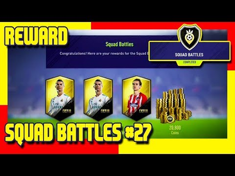 FIFA 18 - Squad Battle Reward #27 & Pack Opening