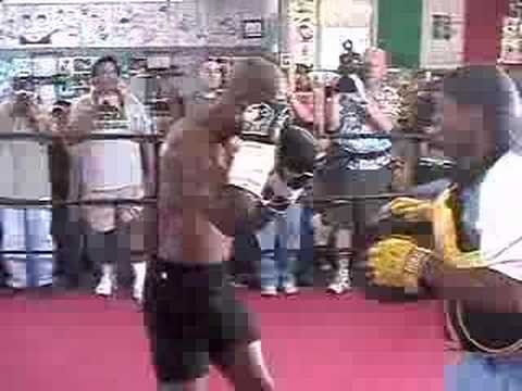 Bernard Hopkins Training Video Image 1