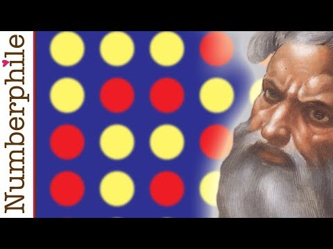 Thumbnail of video Connect Four - Numberphile