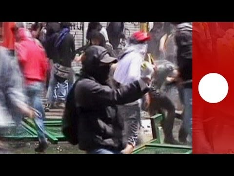 Bogota Clashes: Violence spreads, water cannons, tear gas fired