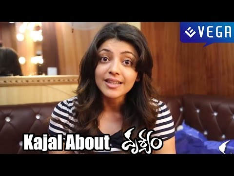 Kajal Talks about Drushyam Movie - Venkatesh, Meena