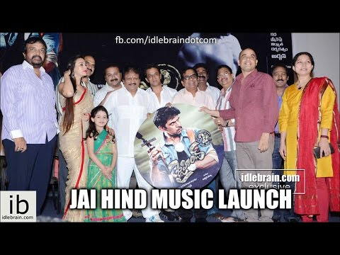 Arjun's Jai Hind 2 music launch