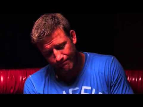 Forrest Griffin gives advice to his fellow fighter Stephan Bonnar before Anderson Silva fight