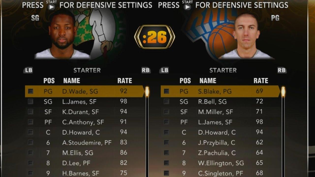 NBA 2k13 + 2k14 - Mega Thread - The Tech Game