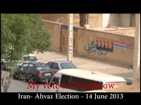 Iran Ahvaz Election 14 June 2013