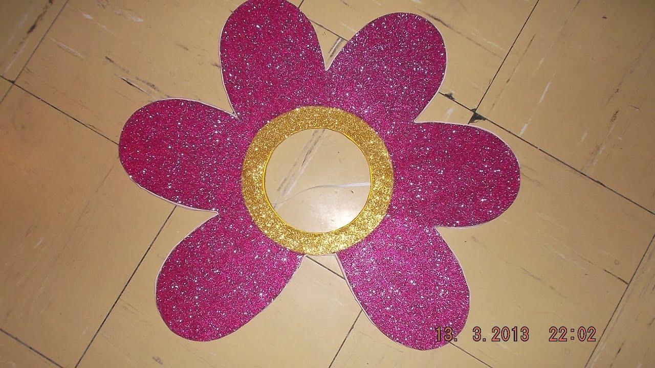Como hacer un disfraz de flor con material reciclable for Como construir piletas de material