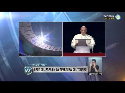 Visión 7 - Brasil 2014: El Papa dará un mensaje contra el racismo