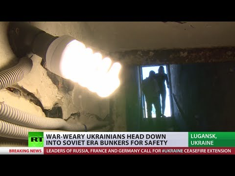 Ceasefire expires: Ukrainians head down into Soviet bunkers