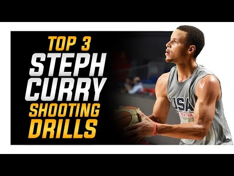 Top 3 Stephen Curry Shooting Drills off the Catch