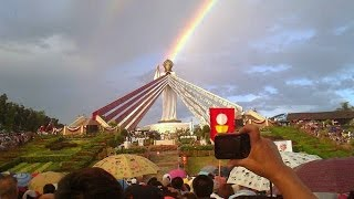 Dancing Sun Miracle Divine Mercy Hills, Philippines