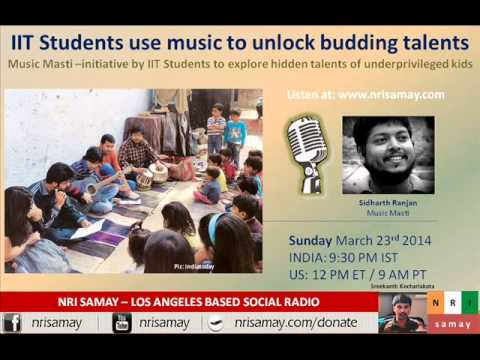 Sidharth Ranjan - IIT Delhi students take music to underprivileged kids!