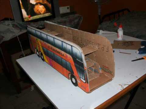 Elaborando una maqueta de un bus youtube - Como hacer una maqueta de una casa ...