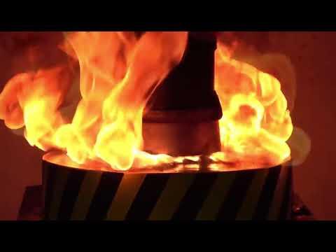 Hydraulic anti-tassel press