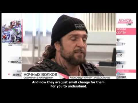 Night Wolves MC Russia attack Bandidos MC and Hells Angels MC Biker War in Russia Documentary 2015
