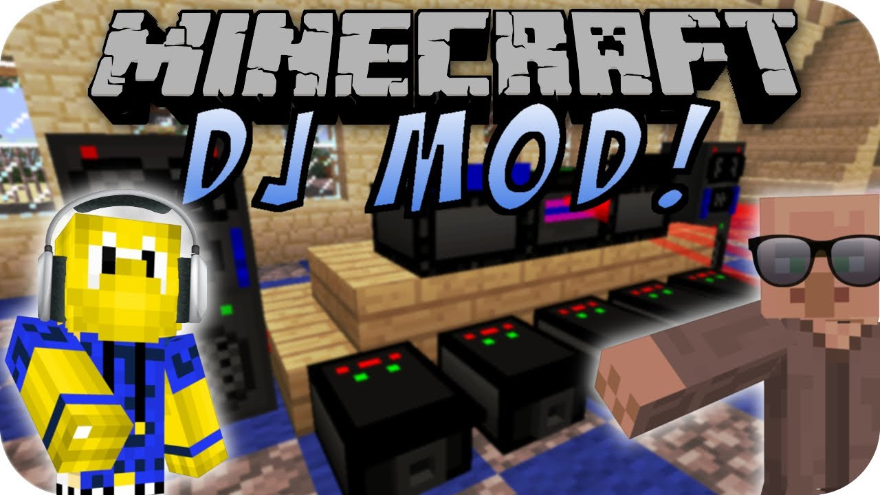Minecraft dj mod party mod youtube for Party utensilien