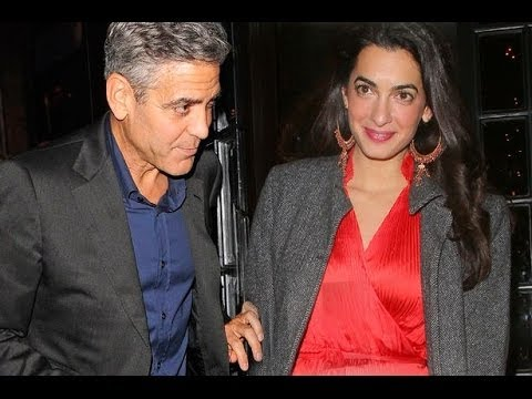 George Clooney & Amal Alamuddin To Marry In Venice - BT