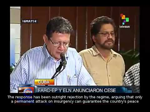 Colombia: FARC says government responds to ceasefire with aggression
