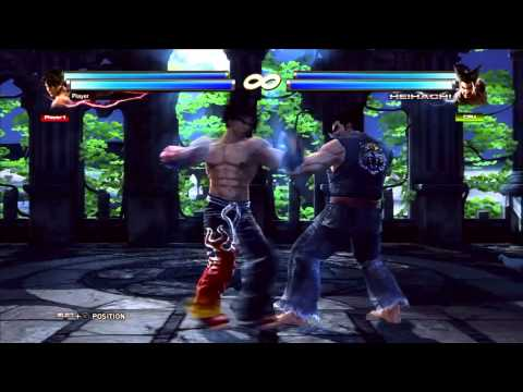 Tekken Tag Tournament 2 Jin Kazama Day 1 Combo Video